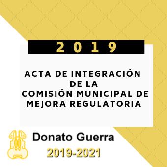 Acta de Integracion de la Comision