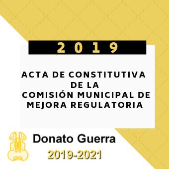 Acta Constitutiva de la Comisión