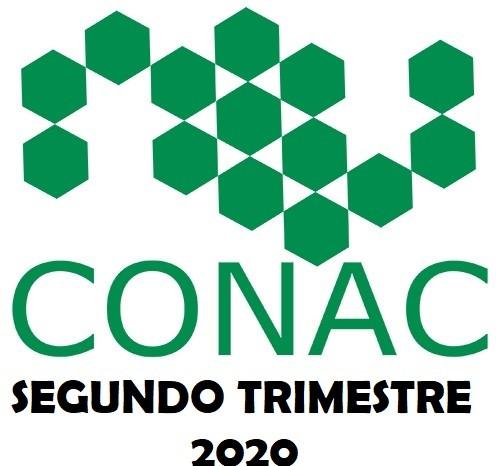 CONAC SEGUNDO TRIMESTRE 2020