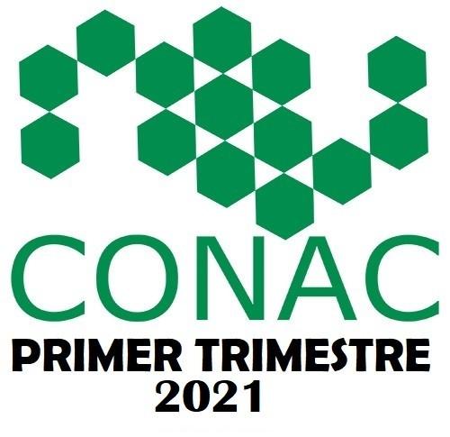 CONAC PRIMER TRIMESTRE 2021